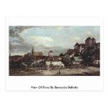 Vista de Pirna de Bernardo Bellotto Tarjeta Postal