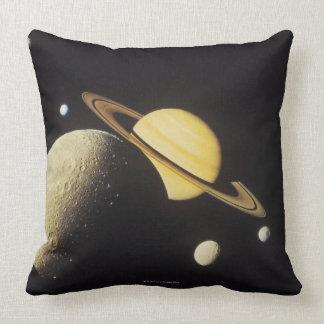 vista de planetas en la Sistema Solar Cojín