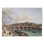 Vista de Pont Neuf, 1832 Tarjeta De Felicitación