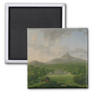 Vista de Powerscourt, condado Wicklow, c.1760-2 (a Imán Cuadrado