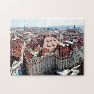 Vista de Praga en República Checa Rompecabeza