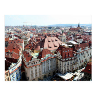 Vista de Praga en República Checa Postal