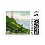 Vista de puente Golden Gate de Elizabeth Kavaler Franqueo
