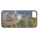 Vista de Roma de Castel Sant Ángel Funda Para iPhone 5 Barely There