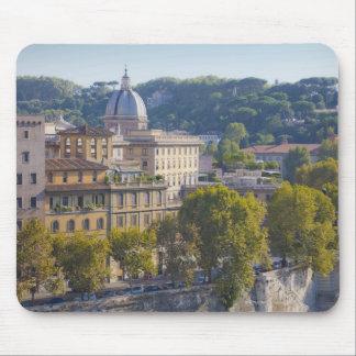 Vista de Roma de Castel Sant Ángel Mousepad