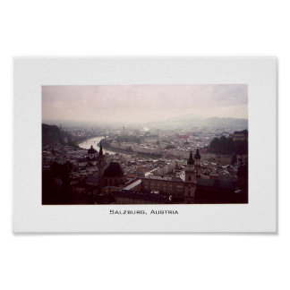 Vista de Salzburg Impresiones
