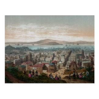 Vista de San Francisco (1860) Postal