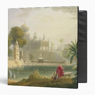 """Vista de Sassoor en el Deccan, del volumen II de ' Carpeta 1 1/2"""""""