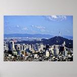 Vista de Seul de Ansan Posters