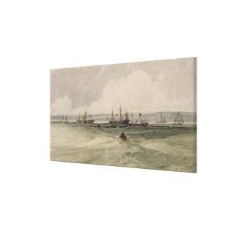 Vista de Sheerness (w/c sobre el grafito en el pap Lienzo Envuelto Para Galerías