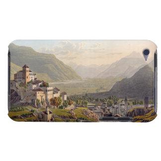 Vista de Sion, ejemplo del 'viaje Pittoresqu Barely There iPod Cárcasa