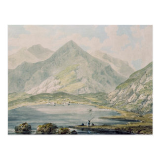 Vista de Snowdon Tarjeta Postal