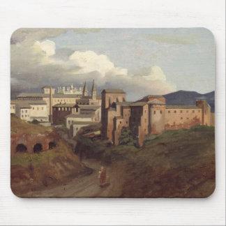 Vista de St. John Lateran, Roma, 1822 Alfombrilla De Ratón