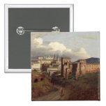 Vista de St. John Lateran, Roma, 1822 Pin