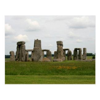Vista de Stonehenge Tarjetas Postales
