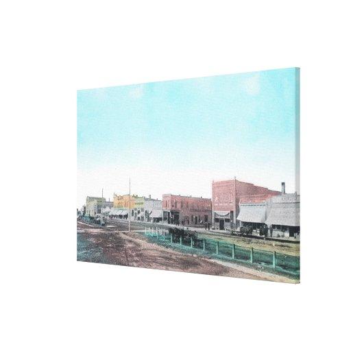 Vista de StreetBlackfoot principal, identificación Impresiones En Lona