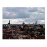 Vista de Tallinn Tarjetas Postales