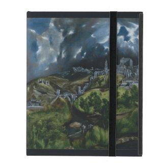 Vista de Toledo de El Greco iPad Cobertura