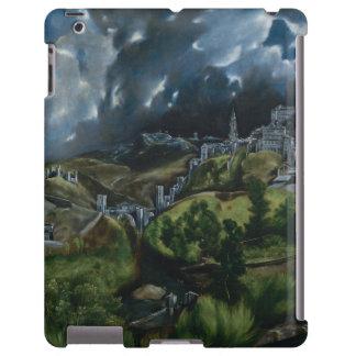 Vista de Toledo de El Greco Funda Para iPad