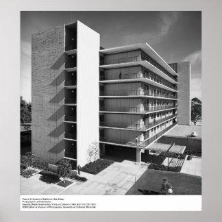 Vista de Uc San Diego, por Ansel Adams Poster