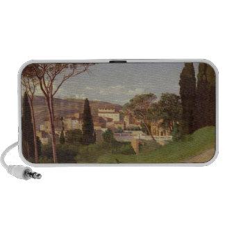 Vista de un chalet romano, 1844 iPod altavoces