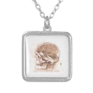 Vista de un cráneo Leonardo da Vinci Grimpolas Personalizadas