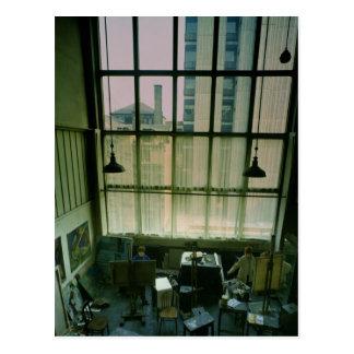Vista de un estudio, construida 1897-99 postales