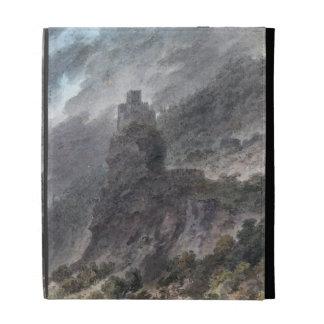 Vista de un Schloss entre Bolzano y Trent w c
