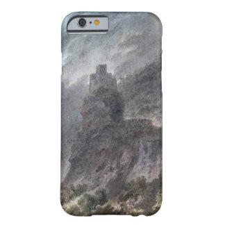 Vista de un Schloss entre Bolzano y Trent, (w/c) Funda Para iPhone 6 Barely There