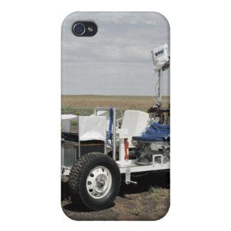 Vista de un vehículo lunar de 1-G Rover iPhone 4/4S Carcasas