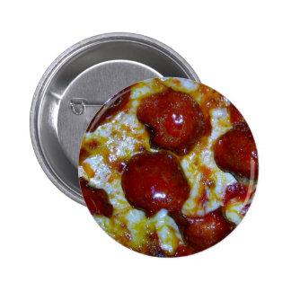 Vista de una pizza de salchichones pin