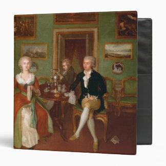 Vista de una sala de estar, 1780
