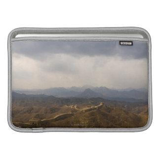 Vista de una sección de la Gran Muralla de China Funda Para Macbook Air