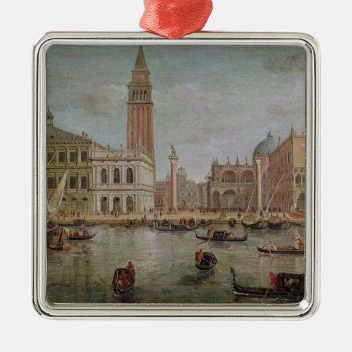 Vista de Venecia, 1719 Ornamentos De Navidad