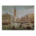 Vista de Venecia, 1719 Postal