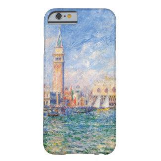 Vista de Venecia por Renoir Funda De iPhone 6 Barely There