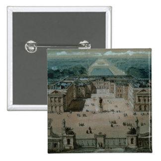 Vista de Versalles Pin Cuadrado