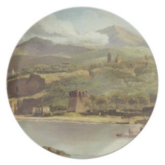 Vista de Vico Estense de Sorrento que mira hacia Plato Para Fiesta