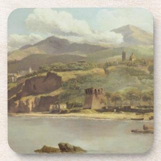 Vista de Vico Estense de Sorrento que mira hacia Posavaso