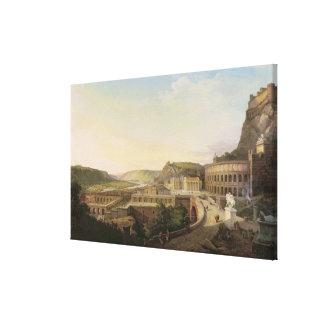 Vista de Viena en épocas romanas, 1860 Lona Envuelta Para Galerías