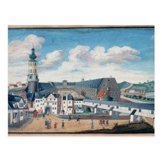 Vista de Weimar con el castillo de Wilhelmsburg Tarjeta Postal