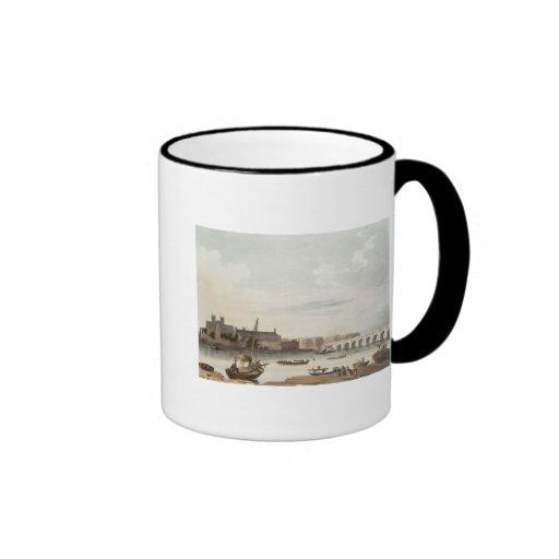 Vista de Westminster y del puente Tazas De Café