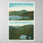 Vista de Whiteface Mt de la colina de la señal, co Posters