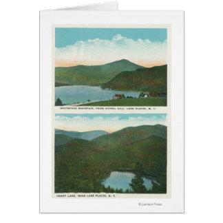 Vista de Whiteface Mt de la colina de la señal, co Tarjeta De Felicitación