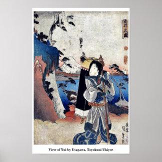 Vista de Yui por Utagawa, Toyokuni Ukiyoe Posters