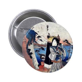Vista de Yui por Utagawa, Toyokuni Ukiyoe Pin