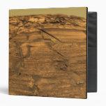 Vista del acantilado de las quemaduras en Marte
