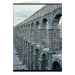 Vista del acueducto romano que fecha probablemente felicitacion
