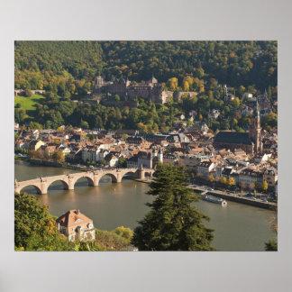 Vista del Alte Brucke o puente viejo Posters