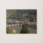 Vista del Alte Brucke o puente viejo Puzzle